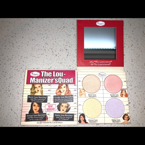 The Balm Other - The balm cosmetics highlighter palette
